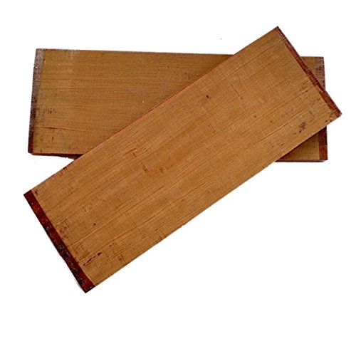Electrig Guitar Top - Bubinga - 550x200x24 mm. by Guitar tools USA