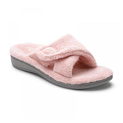 Vionic New Womens Relax Slipper Pink 10