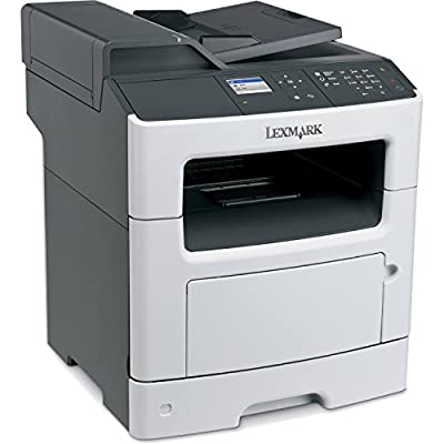 Lexmark MX310DN Laser Multifunction Printer - Monochrome - Plain Paper Print - Desktop - Copier/Fax/Printer/Scanner - 35 ppm Mono Print - 1200 x 1200 dpi Print - 35 cpm Mono Copy LCD - 1200 dpi Optical Scan - Automatic Duplex Print - 300 sheets Input - Fa