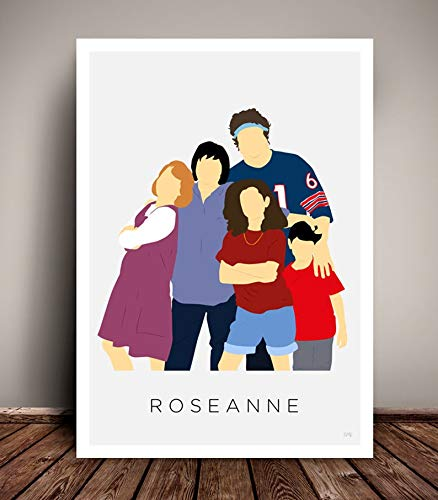 MugKD LLC Roseanne TV Poster 1980s - 1990s Poster Movies Gifts for Fan [No Framed] Poster Home Art Wall Posters (16x24) -