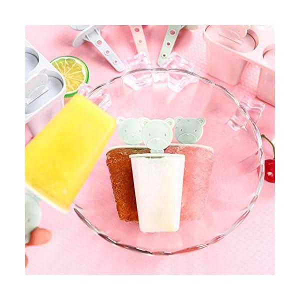 Stampo per gelato a 6 fessure con coperchio. Lyndee 4 spesavip