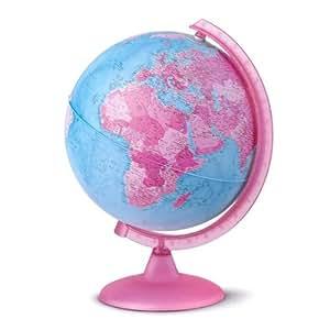 Ciencia en la nube globo terr queo rosa - Globo terraqueo amazon ...