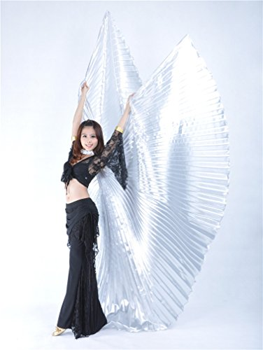 Isis Wings Dreamspell® Belly Dance New Hand Wings Silver ...
