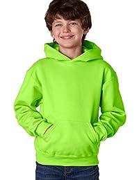 Jerzees Youth 8 oz. 50/50 NuBlend Fleece Pullover Hood
