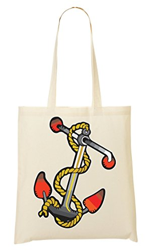 tout à collection Vintage colors Fourre Sailor Old tattoo school Anchor provisions Sac Sac gz1PBn