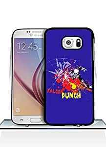 Samsung Galaxy S6 Funda Case, Super Smash Bros Game Customized Pretty Premium Design Scratch-Proof Extra Slim Back Film Protector Skin [Just fit for S6]