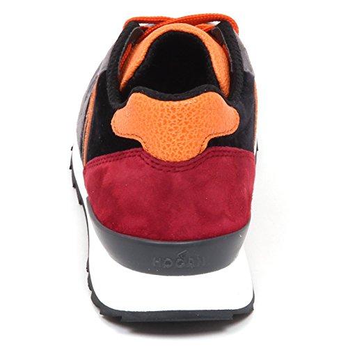 Grigio Velvet Nero Suede Scarpe Woman Shoe Hogan Sneaker R261 Donna E4520 xwnI0q8