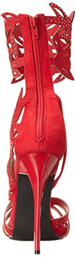 Glamor Red Gladiator Too Sandal Women Lips Too 2 qFwTxUIZ00