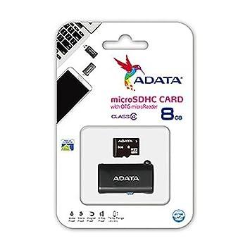 ADATA ausdh8gcl4-rotgmbk Tarjeta de Memoria SD 8 GB: Amazon.es ...