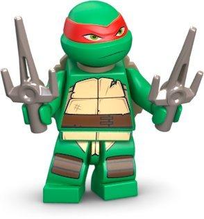 with LEGO Teenage Mutant Ninja Turtles design