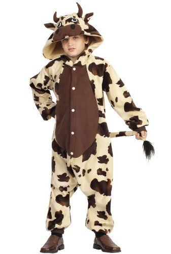RG Costumes 40324 Funsies' Billie The Bull, Child Small/Size 4-6, Beige/Brown ()