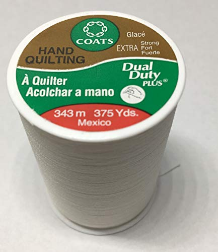 Eyebrow Threading White Thread 375 Yards A261 (Pack of 3) by Coats - $1.75/Spool