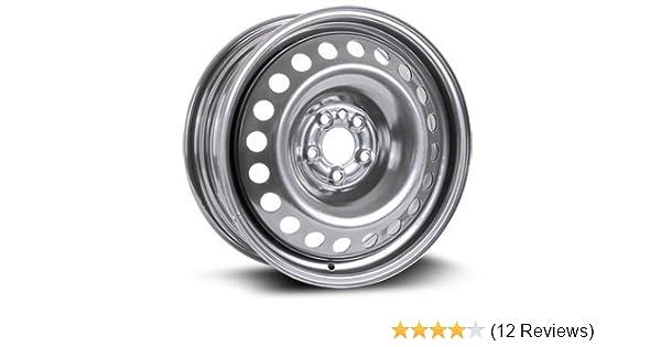 5X114.3 16X7 Steel Rim New Aftermarket Wheel 70.6 11 RTX black finish X40827