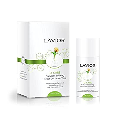 LAVIOR D-CARE - Natural Antimicrobial, Antibacterial Wound and Burn Care Gel. Burn, Pressure Ulcer, Bedsore and Skin Irritation Treatment. Clinically Proven, Dr Recommended, Steroid & Cortisone FREE
