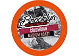 Brooklyn Beans Colombian Coffee Pods for Keurig K Cups Coffee Maker, 40 Count