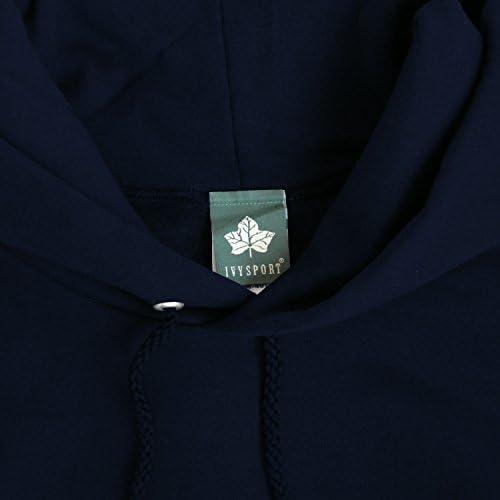 イェール大学フード付きスウェットシャツ - クラシックロゴ コットン80% ポリエステル20% ネイビー