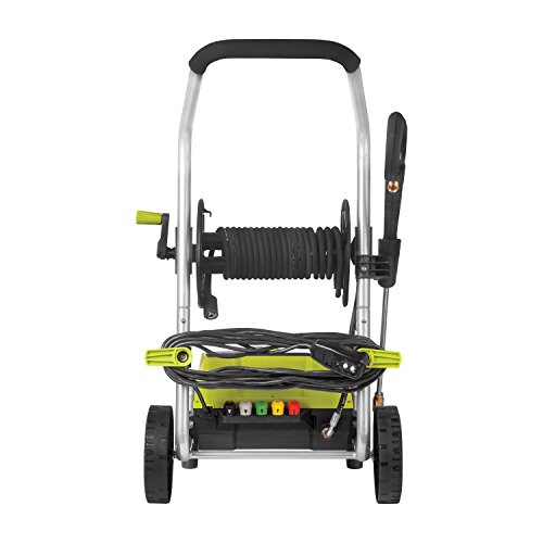 Sun Joe SPX4001 2030 PSI 1.76 GPM 14.5 Amp Electric Pressure Washer w/ Pressure Select Technology & Hose Reel by Snow Joe (Image #2)