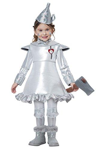 Tin Man Of OZ - Toddler Size Large (4-6) (Tin Man Costume Toddler)