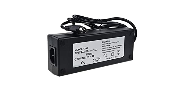 4-Pin AC Adapter For Elo 17A2 15A1 15A2 All-in-One Touchcomputer DC Power Supply