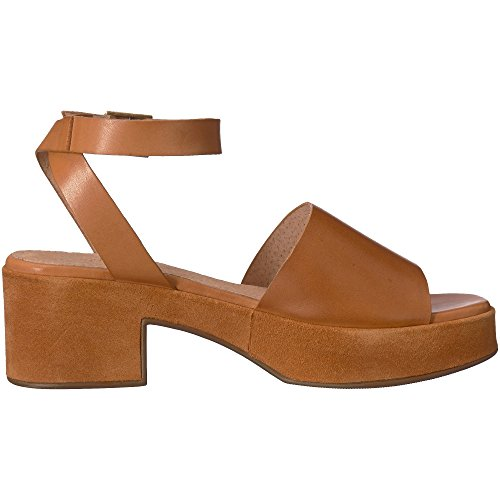 Seychelles Womens Calming Influence Sandal, Tan Leather/Suede, Size 8.5