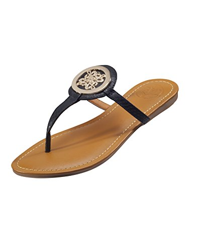 BW Sandals Women's Cactus Black Sandals