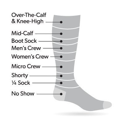 Darn Tough Men's Fred Tuttle Micro Crew Cushion Sock ( Style 2005 ) Merino Wool, Gravel (X-Large 12.5-14.5) - 6 Pack by Darn Tough (Image #2)