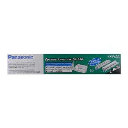 - PANASONIC PANASONIC REPLACEMENT FILM KX-FPG376 /Black - Thermal Transfer - 105 Page - 2 / Box / KX-FA92 /