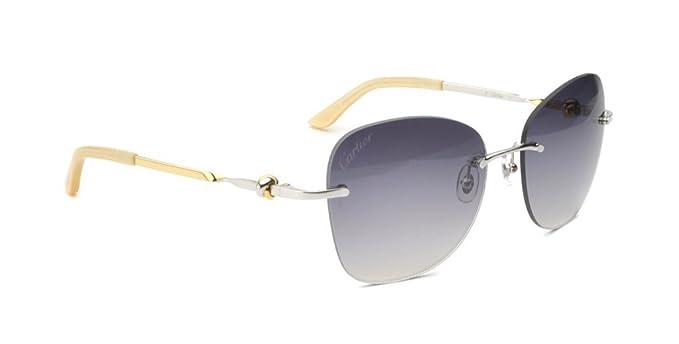 Amazon.com: Cartier Trinity Dos Mujeres tono de oro gris ...
