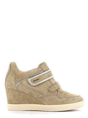 Geox , Baskets pour femme Beige - Lt Taupe