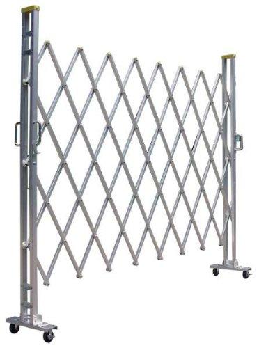 ゲート工業 アルミキャスターゲート 12Y型 高さ1.2m 間口1.8m 片開き B008M0HC9C