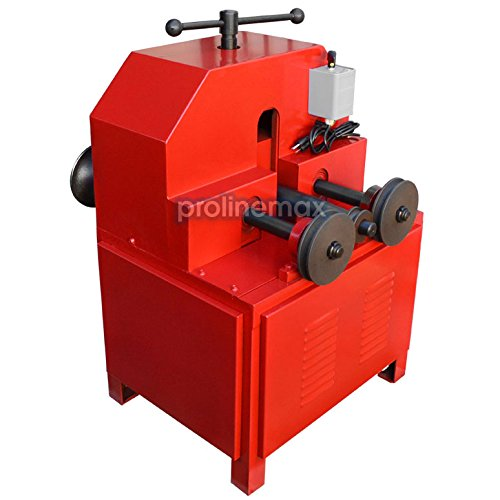 110 Volt Electric Tube Pipe Bender Roller Round-5/8-3
