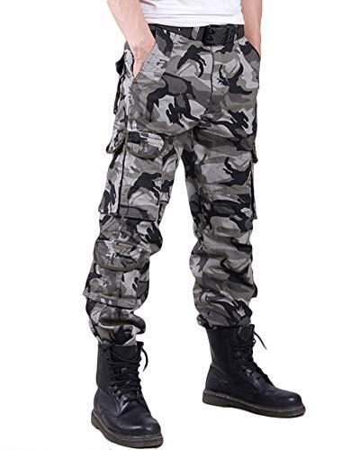 Tasche Pantaloni Chiaro Mc Pants Tactical Cargo Casual Uomo Verde Multi xQBeEordCW