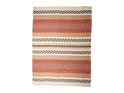 Pendleton Mojave Twill Clay Organic Cotton Throw Blanket, One Size (Blanket Cotton Pendleton)
