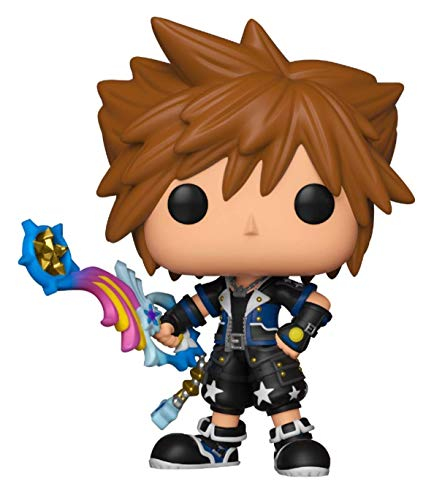 Funko - Disney Kingdom Hearts 3-Sora (Drive Form) - Figura Decorativa, Multicolor, 34