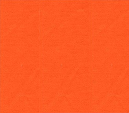 Polyester Broadcloth - Polyester Cotton Fabric Broadcloth ORANGE / 60