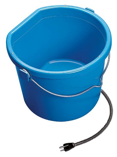 API 5 Gallon 115 Watt Heated Flat Back Bucket 20FB (5 Gallon Flat)