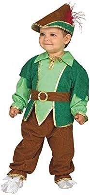 Bebé del traje de Peter Pan, el tamaño 92, Kinderfasching muchacho ...