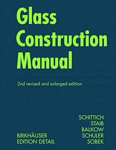 Glass Construction Manual (Construction Manuals (englisch))