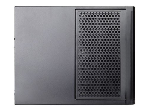 SilverStone Technology Premium Mini-ITX / DTX Small Form Factor NAS Computer Case, Black (DS380B) by SilverStone Technology (Image #3)