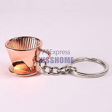 ShoppyStar - Llavero portátil de aleación de zinc, tazas de café ...