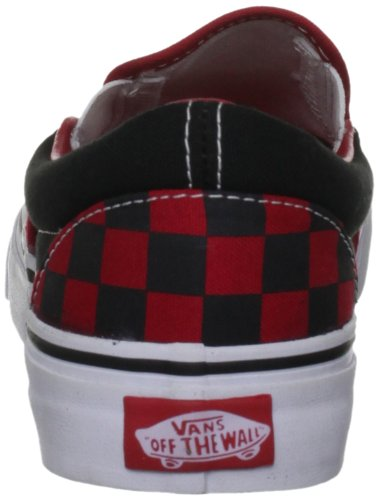 mode adulte Classic on Checkerboard Baskets Noir Black Formula Slip Vans One mixte U qXZTRR