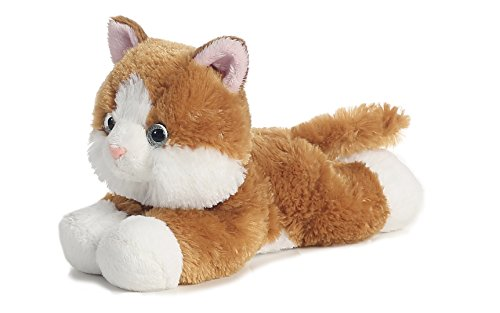 Flopsie Tabby Cat (Cat Aurora Mini Flopsies Plush)
