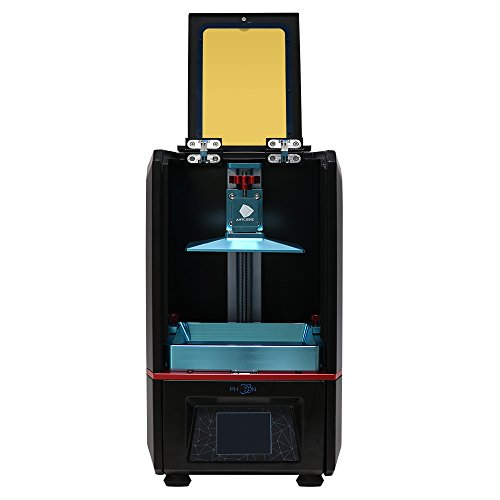ANYCUBIC Photon UV LCD 3D Printer Assembled Innovation with 2.8'' Smart Touch Color Screen Off-line Print 4.53''(L) x 2.56''(W) x 6.1''(H) Printing Size by Anycubic
