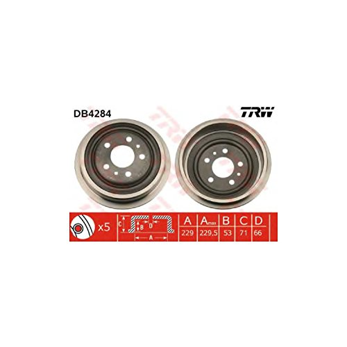 TRW DB4284 Brake Drums: