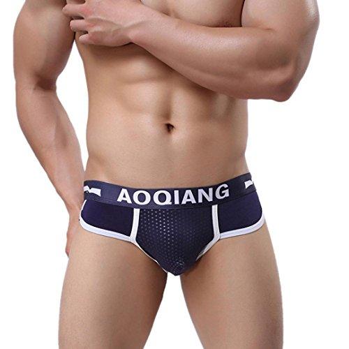 Hot Sale!Men's Underwear, Neartime Men Fashion Cotton Boxer Briefs Shorts Soft Underwear (M, - Cheap Mens Fashion