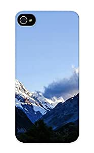 Illumineizl Top Quality Rugged Mount Cook New Zealand Case Cover Deisgn For Iphone 5/5s For Lovers