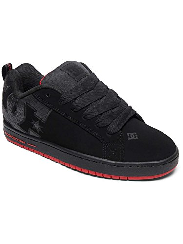 Sneaker Uomo M S Court Dc Graffik Black black Shoes red qAgYX