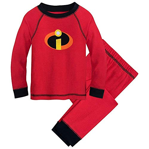 Disney Pixar Incredibles Logo PJ PALS Size -
