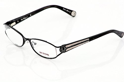 TRUE RELIGION Billie Eyeglasses Black Optical Frames: Amazon.co.uk ...