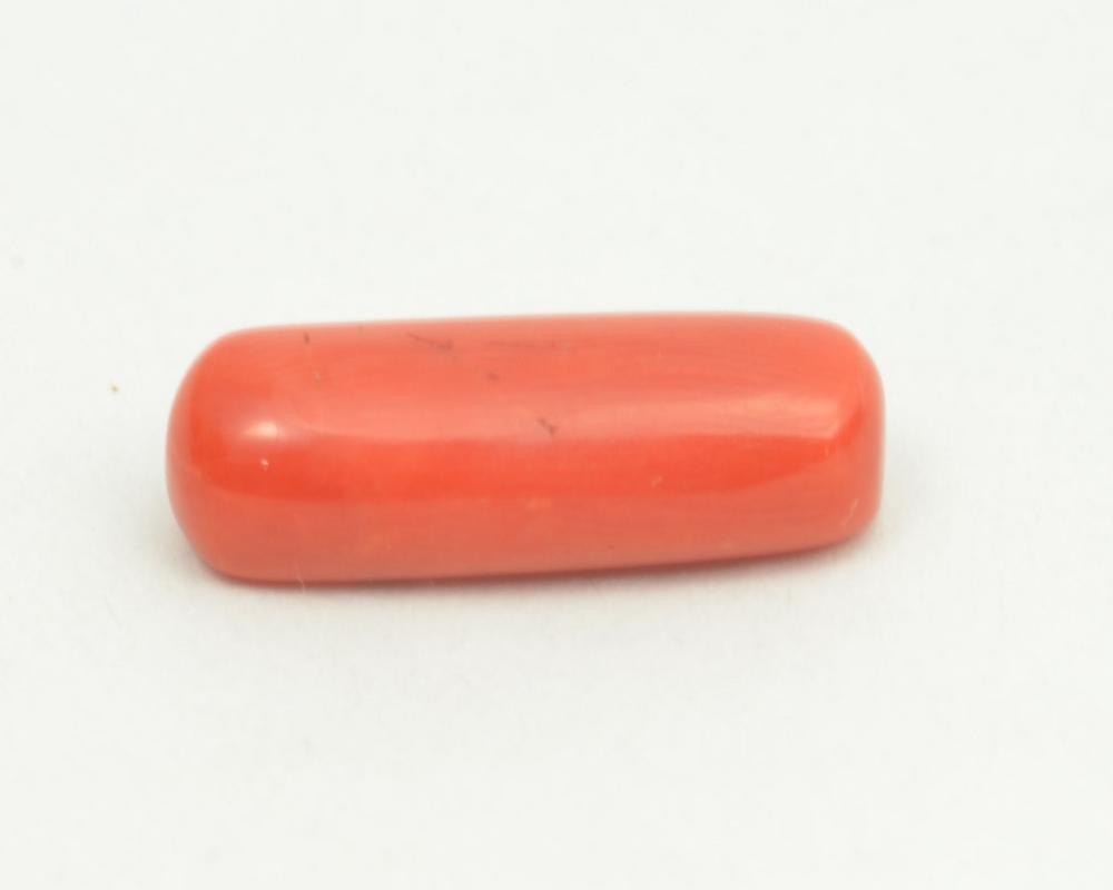 Moonga Stone Original Natural Fine Quality cabochon Red Coral Moonga Loose Gemstone 6.00 crts